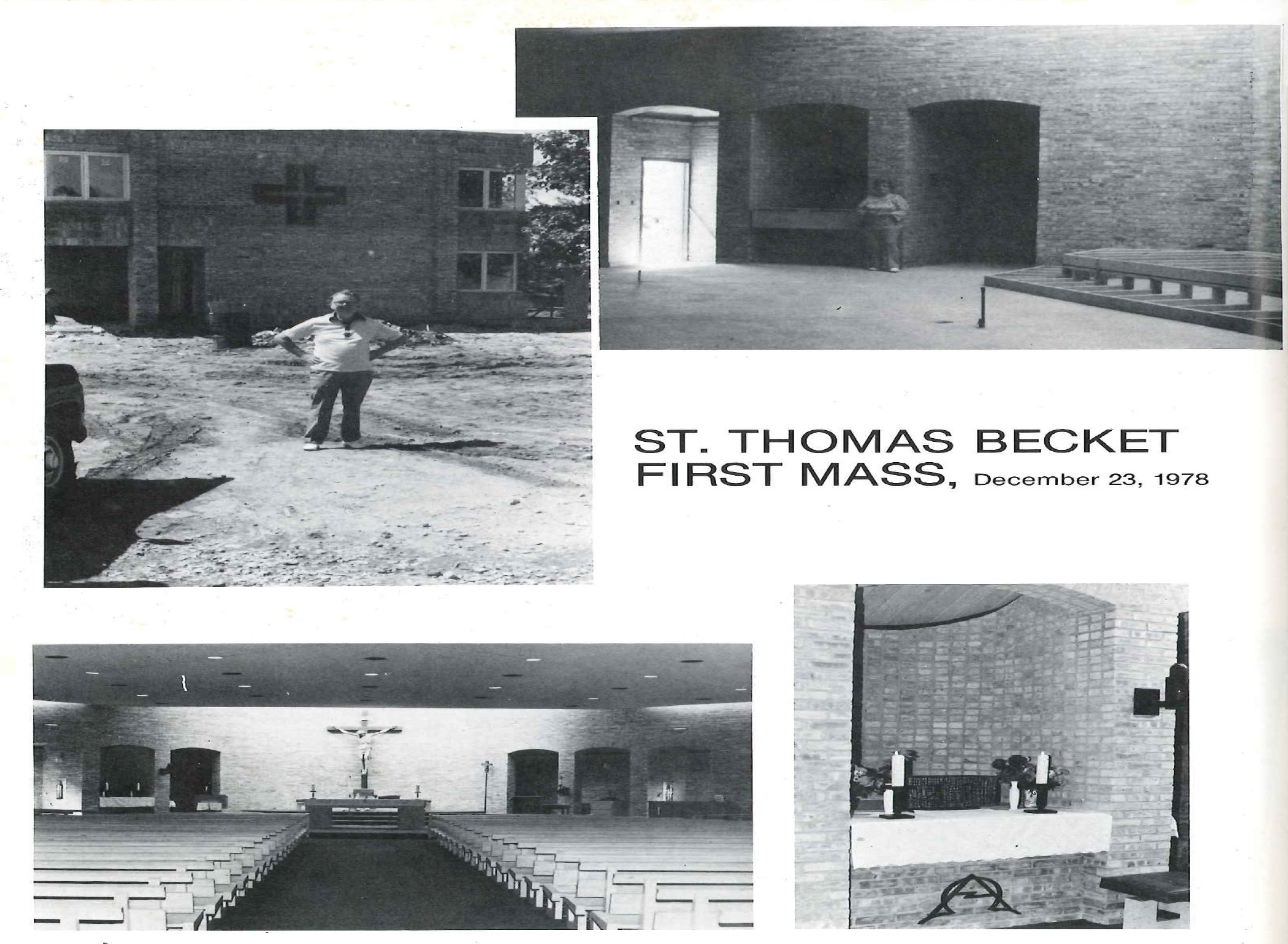 Parish History - St  Thomas Becket Parish